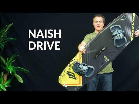 2018 Naish Drive Kiteboard Review