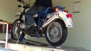 preview picture of video 'R80 GS Basic auf dem Leistungsprüfstand'