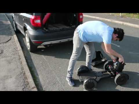 TGA WHILL Model C: putting your powerchair in the car boot with ease YouTube video thumbnail