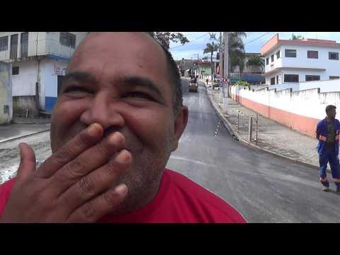 Prefeito Ayres Scorsatto faz Cida e Chico Junior passar vergonha na Pavimentação da Rua Antônio Pereira da Silva e Claudio Boca Mole manda o Recado