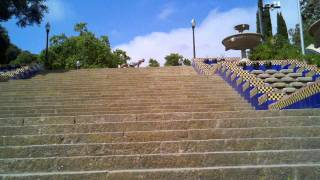 preview picture of video 'Vacation workout, stairs in Barcelona'