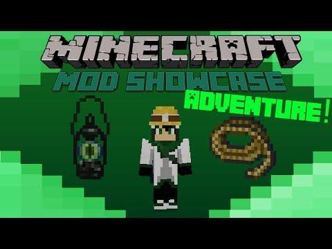 Minecraft Mod Showcase- ADVENTURE! EXPLORER'S GEAR!!