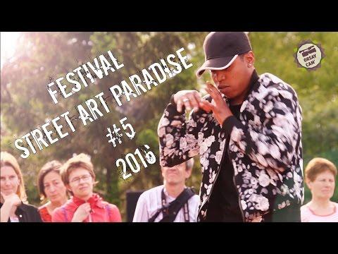 """Teaser du festival """"Street Art Paradise"""""""