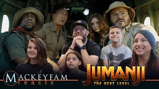 JUMANJI: THE NEXT LEVEL   Official Trailer  REACTION And REVIEW!!!