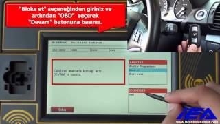 BMW CAS3 - CAS3+  Zed-FULL  ile OBD ÜZERİNDEN  ANAHTAR BLOKE ETME VE BLOKE AÇMA İŞLEMİ