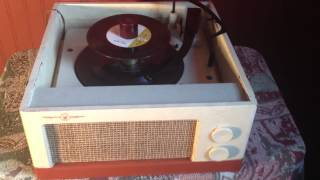 1958 Voice Of Music Model 1260 Multi Speed Record Player Totally Restored