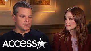 Matt Damon Says He Knew That Harvey Weinstein Had Once Harassed Gwyneth Paltrow | Access Hollywood
