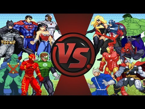 Justice League vs Avengers | Animation (DC vs Marvel) | AnimationRewind
