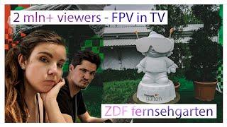 2+ million viewers - FPV racing in TV ???? ZDF Fernsehgarten 2020 10.05 | MaiOnHigh