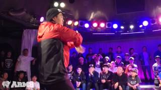 GENGEN vs TUTAT Exhibition Battle ARMS vol.1 2015 | YAK BATTLES