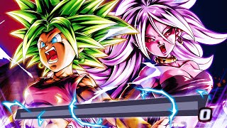 Kefla & Android 21 DEFINITELY Make Female Warriors GOD Tier In Dragon Ball Legends