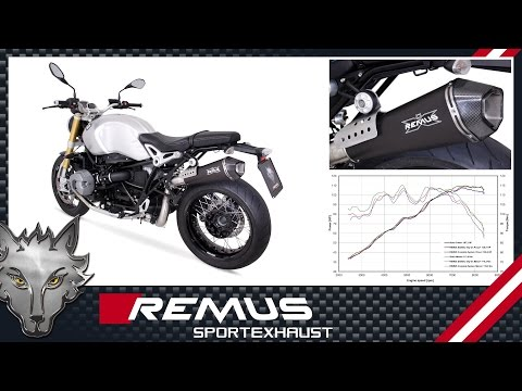 Download 2015 Bmw R Ninet With Remus Exhaust Video 3GP Mp4