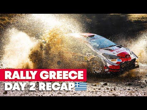 RedBullWRC 2021 ラリー・ギリシャ Day2ハイライト動画