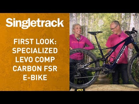 First Look: Specialized Levo Carbon Comp 29er e-bike
