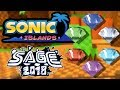 Sonic Islands SAGE 2018 Demo All Chaos Emeralds Pedestals Sonic Fan Games