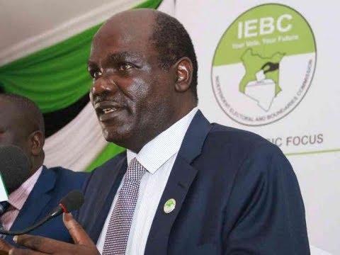 IEBC chair Wafula Chebukati elaborates on his earlier estimation on the voter turnout