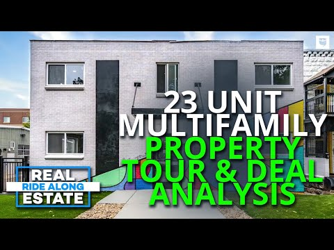 23 Unit Multifamily Real Estate Investment Property Deal Analysis & Tour   Real Estate Ride Along