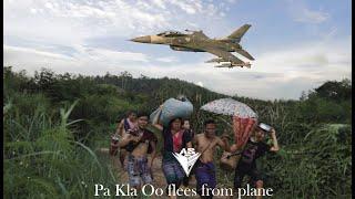 (비행기에서 도망친 Pa Kla Oo) 카렌 재미있는 영화 2021