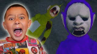 TELETUBBIES.EXE ARE REAL! | Slendytubbies 3 Gameplay CHAPTER 0