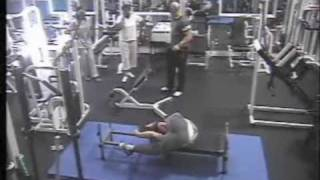 Funny Guy at Gym
