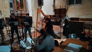 Retour sur notre enregistrement de décembre des madrigaux de Kapsberger