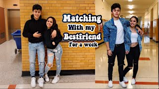 Wearing Matching Outfits With My Boy Friend To School For A Week