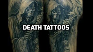 Death Tattoos - Best Death Tattoo Designs Ideas