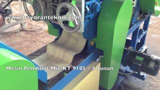 Mesin Pembuatan Mie Tipe KT 9105 atau 4 Susun