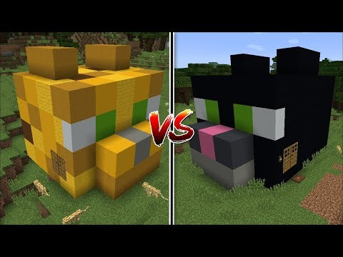Minecraft OCELOT HOUSE VS CAT HOUSE MOD / FIND THE BEST PET HOUSE !! Minecraft