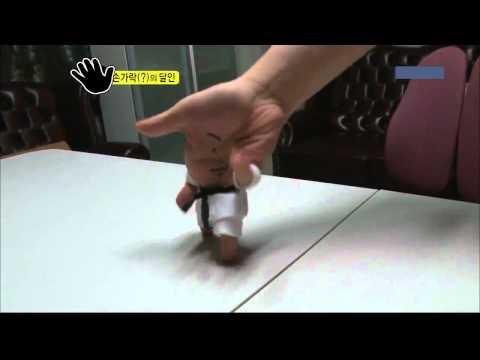 Biểu diễn Taekwondo bằng ngón tay, ảo diệu vl