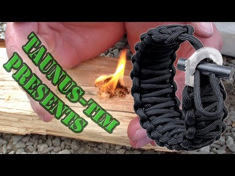 Produkttest #2: Das Überlebensarmband mit Feuerstarter und Mini Messer von The Friendly Swede