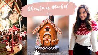My First German Christmas Market! Düsseldorf Solo Travel Vlog