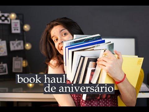BOOK HAUL ESPECIAL DE ANIVERSÁRIO