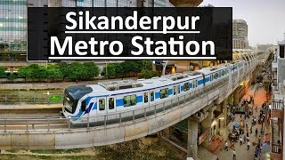 Sikanderpur Metro Station (Yellow Line) | Nearest Metro Station to Ambience Mall
