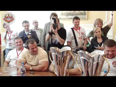 Video Interview Constantine  Pozdeev - world record holder -  RAW deadlift   404 kg