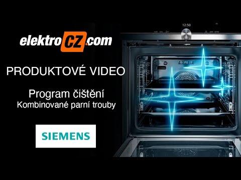 Program čištění | Kombinované parní trouby Siemens