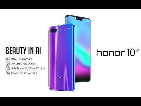 Honor 10 (64GB, Magic Night Black, 5.84