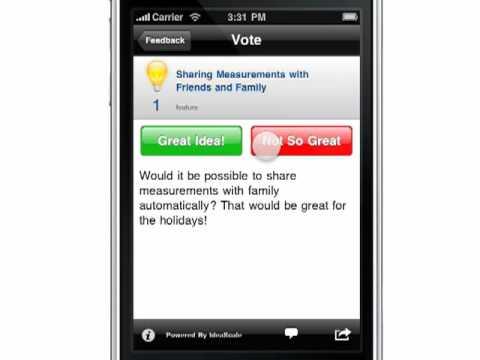 ideascale iphone app