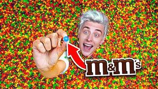 Кто Найдет M&M's в Бассейне Skittles, Получит 10,000$ - Челлендж