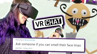 Doing More of YOUR Dares in VRChat (Funny Moments)