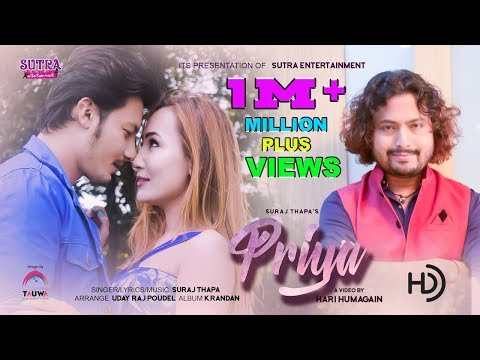 O Priya - Suraj Thapa - New Nepali Music Video