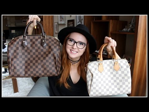 Louis Vuitton Speedy 25 VS Speedy 30 || Luxury Bag Review