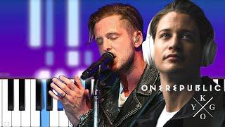 Kygo & OneRepublic - Lose Somebody (Piano Tutorial)