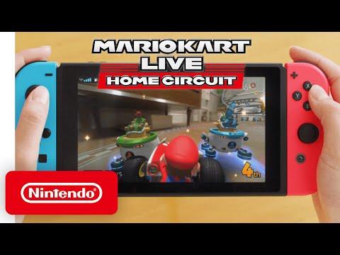 Trailer de démonstration pour Mario Kart Live: Home Circuit  de Mario Kart Live: Home Circuit