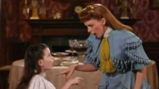JUDY GARLAND: 'THE CAKE WALK' WITH TOOTIE, SINGING 'UNDER THE BAMBOO TREE'. A CLOSEUP.