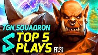TGN Squadron's Top 5 Plays in Heroes of the Storm   Episode 31