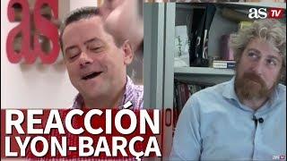 La Premonición Fallida De Roncero Con El Lyon-Barça: Así Reaccionó | Diario AS