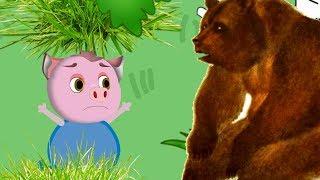 Смешные приколы для детей в мультфильме для малышей о приключениях Свинки Алисы и ее друзей