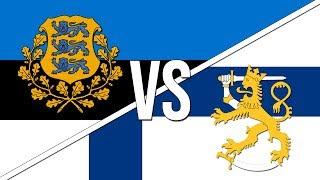 🇪🇪 Estonian National Anthem vs. Finnish National Anthem! 🇫🇮