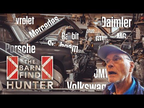 Best barn find ever? 45 sports cars hidden in Virginia   Barn Find Hunter - Ep. 70